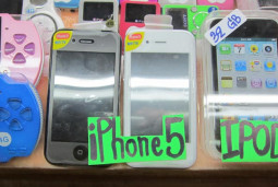 タイでiPhone5を見つけたヨ!