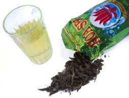 蓮茶の煎れ方