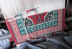 チベット絨毯の工房に行って来ました!