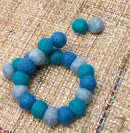 手作りフェルトの、まんまるワンにゃんネックレス – 糸の調節方法