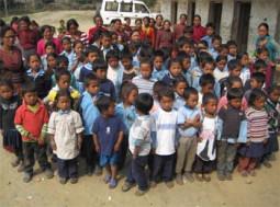 ネパールでボランティア活動をしている筋田さんに会って来ました
