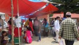 「ネパール通信」5月11日の被災地