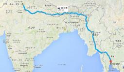 インドからタイまでの陸路が開通するよ!!