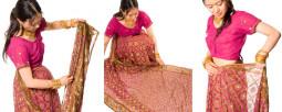 サリーってこんなに着方があるんだって! インド各地方のサリーの着方を大紹介