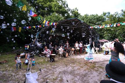 福島のヒッピーコミューン 獏原人村と満月祭2020