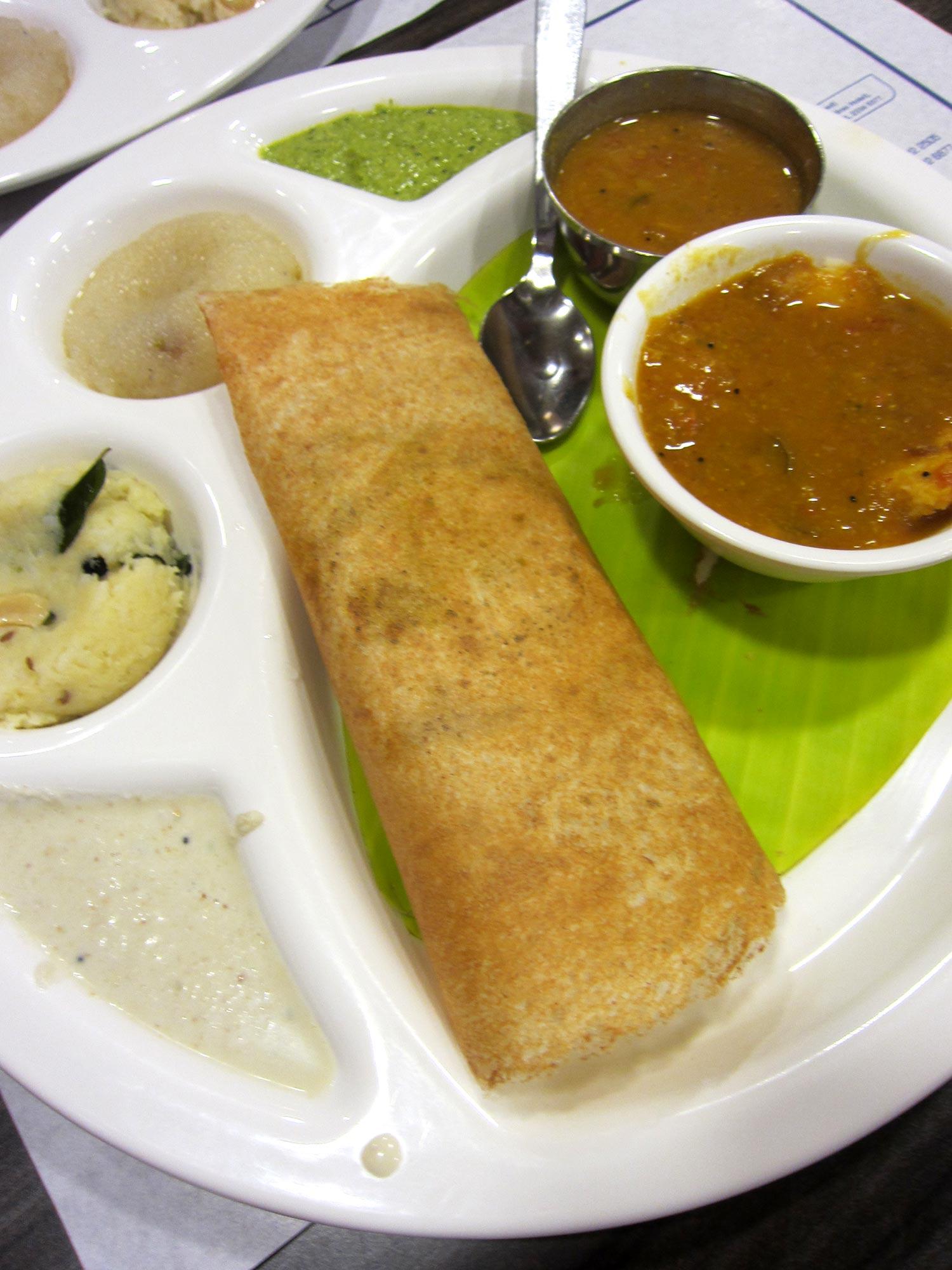 デリーで1番人気の南インドレストラン サラバナバワン