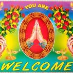 サービス精神が過剰気味!! ほとばしる愛を感じ取れるインドのWelcomeポスター