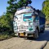 ガスと共に愛を届ける。 クリエイティビティが溢れ出すインドのトラック